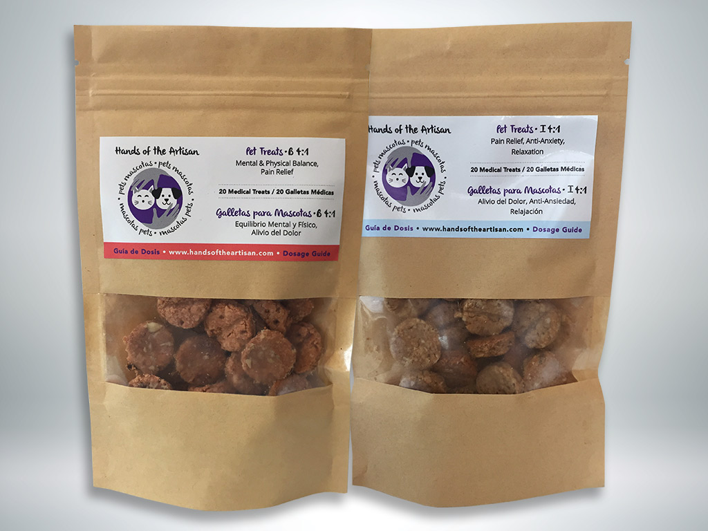 Pet Indica and Blended CBD Treat Package